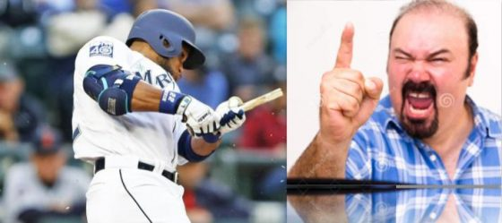 Robinson Cano and angry white man
