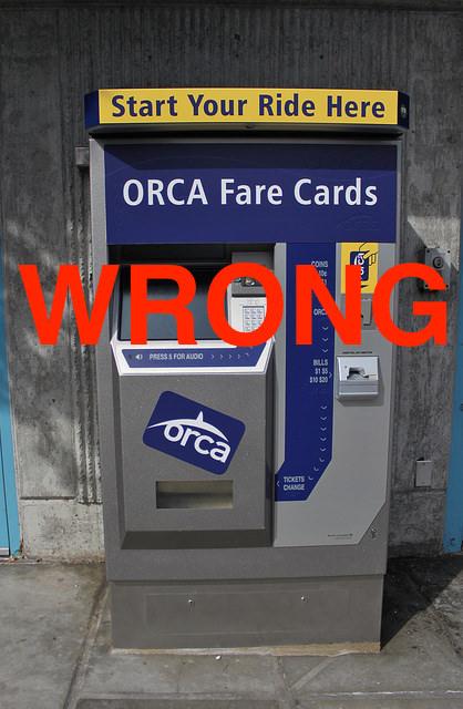 ORCA WRONG